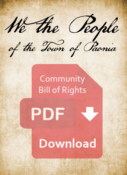 Community Bill of Rights
